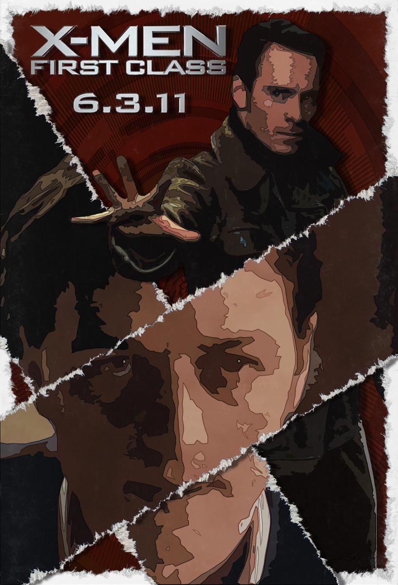 """""""Torn"""" - """"X-Men: First Class"""" Poster #3"""