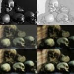 Skull Study - Workflow
